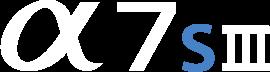 Alpha 7S III