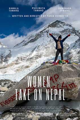Film Poster   Women Take On Nepal